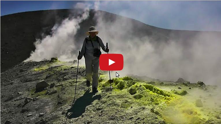 IL cratere di Vulcano