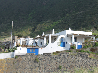 casa tipica isole Eolie