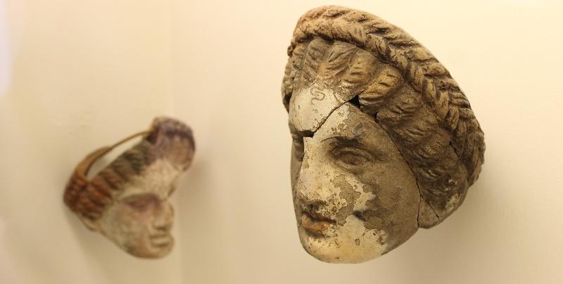 Museo Lipari maschera del teatro