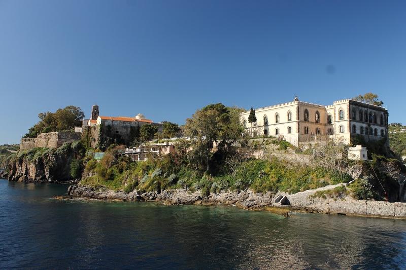 Il castello di Lipari