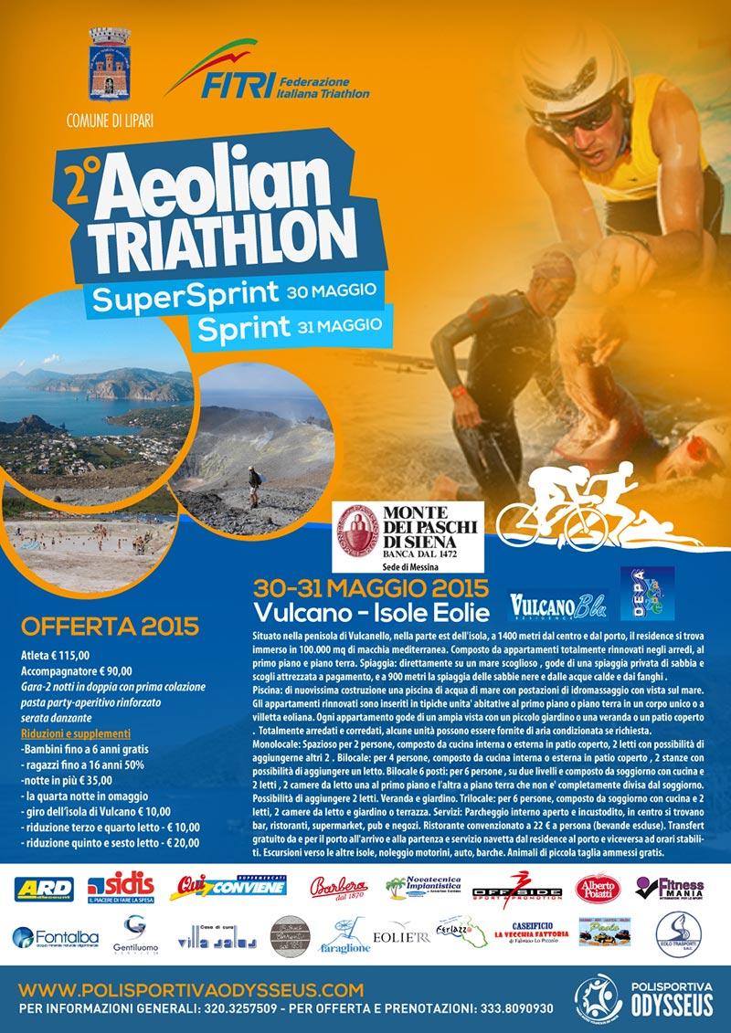 Aeolian Triathlon Vulcano