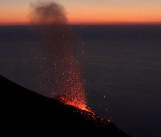 Stromboli vulcano