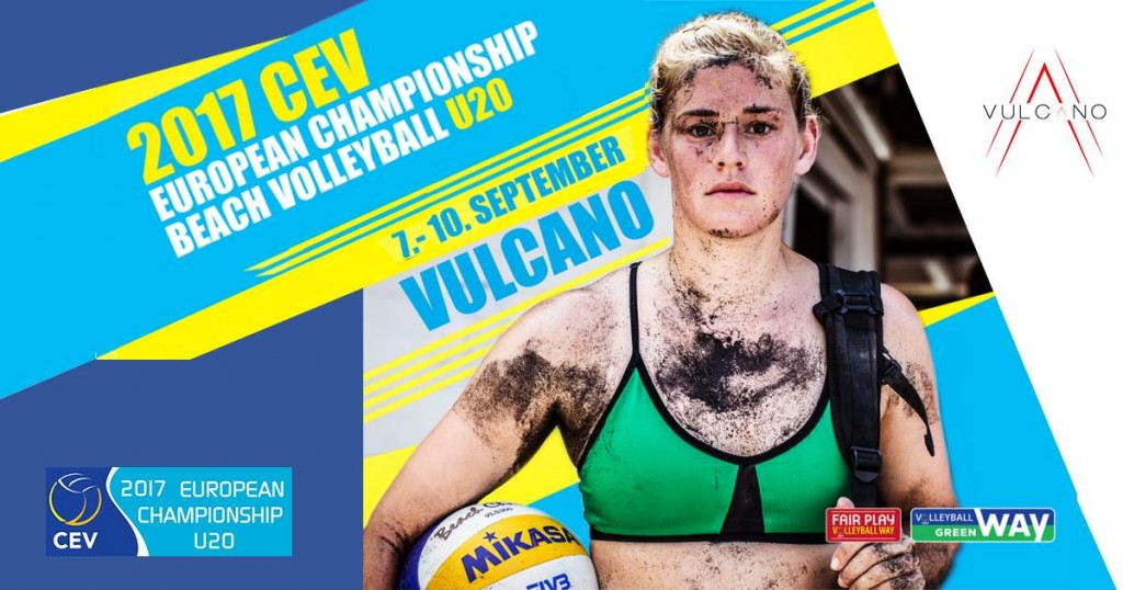 European championship of Beach volleyball Vulcano