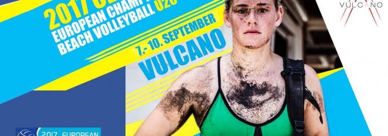 European championship of Beach volleyball Vulcano